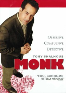 Monk and Tony Shalhoub and Jason Gray-Stanford and Ted Levine